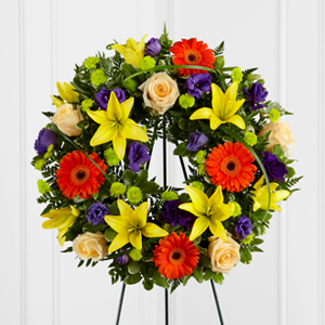 The FTD® Radiant Remembrance™ Wreath Wreath