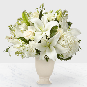 The FTD Remembrance Bouquet Vase Arrangement