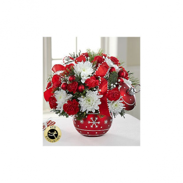 The FTD® Season's Greetings™ Bouquet VASE INCLUDED