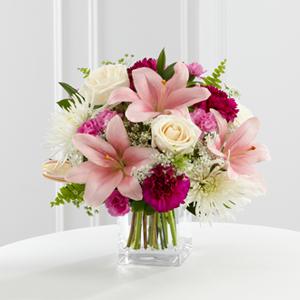 The FTD® Shared Memories™ Bouquet S47-4552 Vased Arrangement