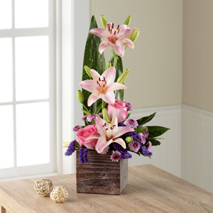 The FTD® Simple Perfection™ Bouquet - CONTAINER INCLUDED