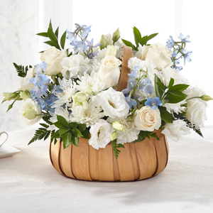 The FTD Sincerely Heartfelt Basket Basket Arrangement