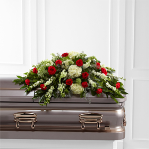 The FTD® Sincerity™ Casket Spray Casket Spray