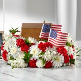 The FTD Spirit of Patriotism Cremation Adornment