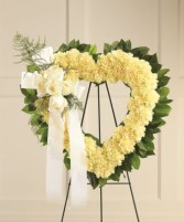 The FTD Standing Open Heart Wreath #3