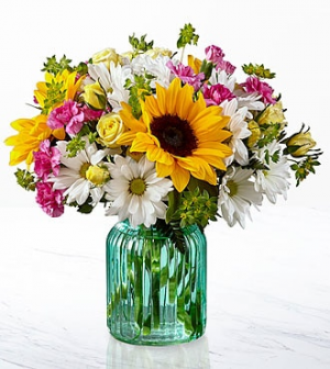 The FTD® Sunlit Meadows™ Bouquet  in Valley City, OH | HILL HAVEN FLORIST & GREENHOUSE