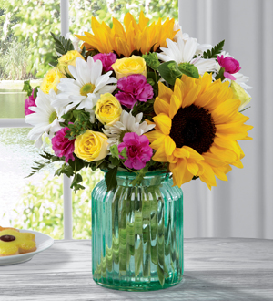 The FTD® Sunlit Meadows™ Bouquet by Better Homes   in Las Vegas, NV | Blooming Memory