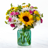 The FTD® Sunlit Meadows™ Bouquet - VASE INCLUDED