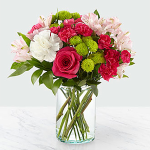 The FTD® Sweet & Pretty™ Bouquet B35 Vased Arrangement