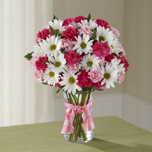 The FTD® Sweet Surprises® Bouquet C12-4792 Vased Arrangement