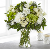 The FTD Thoughtful Sentiments Bouquet Vase Arrangement