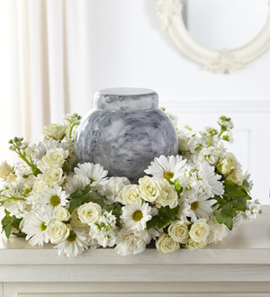 The FTD Timeless Tribute Cremation Adornment
