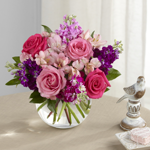 The FTD® Tranquil™ Bouquet - VASE INCLUDED