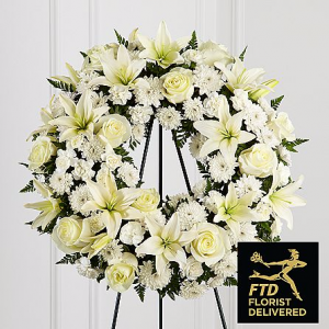 The FTD® Treasured Tribute Wreath  in Allen, TX | Lovejoy Flower and Gift Shop