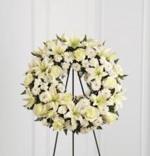 The FTD Treasured Tribute Wreath Wreath #1