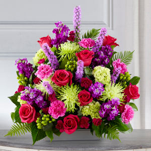 The FTD Warm Embrace Arrangement Sympathy Arrangement