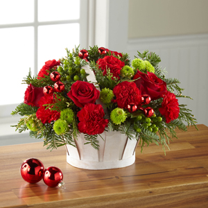 The FTD® Winter Wishes™ Basket   in Valley City, OH | HILL HAVEN FLORIST & GREENHOUSE