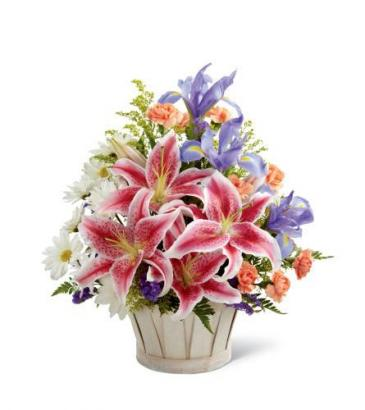 The FTD® Wondrous Nature™ Basket Arrangement