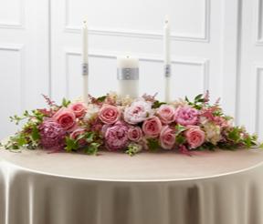 THE FTD® WORLDWIDE ROMANCE™ UNITY CANDLE ARRANGEME Wedding Decor