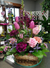 The Gardener Basket Arrangement