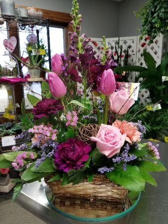 The Gardener Basket Arrangement