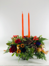 Blessings Centerpiece  Container Arrangement