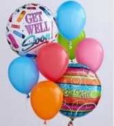 The Get Well Balloons Bunch