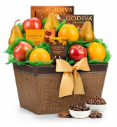 The Godiva Fruit Basket.