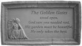 THE GOLDEN GATES MEMORIAL STONE