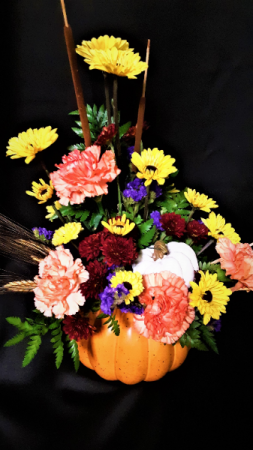 The great pumpkin fall colors
