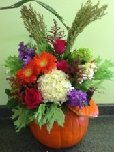 The Great Pumpkin Pumpkin Arrangement