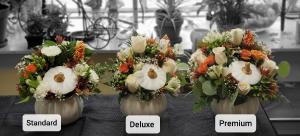 The Great White Pumpkin Ceramic Pumpkin in Portland, OR | Kern Park Flower Shoppe