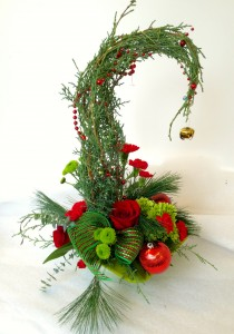 The Grinch Tree Fresh Arrangement
