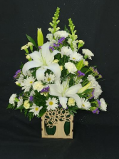 The Growing Tree Arrangement FHF-SF02 Fresh Flower Arrangement (Local Delivery Only)