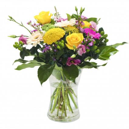The Happy Vase Midsize vase arrangement