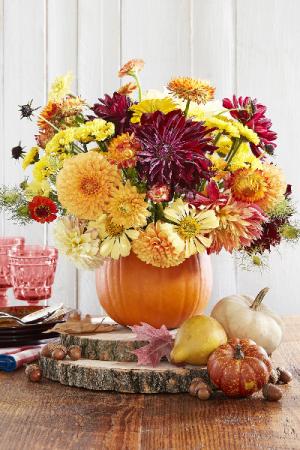 The Harvest Bouquet  Arrangement