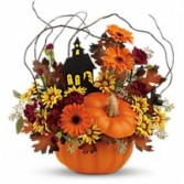 The Haunted Pumpkin Holiday Floral