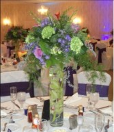 The Jolly Green Giant Reception Centerpeice