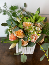 The Judy M.  Fresh Cut Floral Arrangement