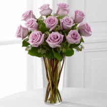 The Lavender Rose Bouquet roses