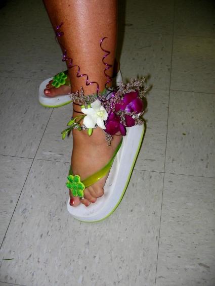 new arrival be0ec 48d2c Wedding-The Leg has It Body Corsage Custom Design. Please ...