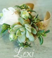 The Lexi Gold Cuff Wristcorsage