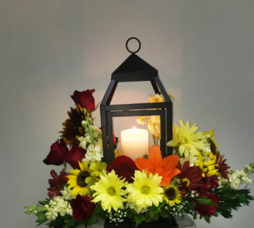 The Light of Hope Sympathy Flowers