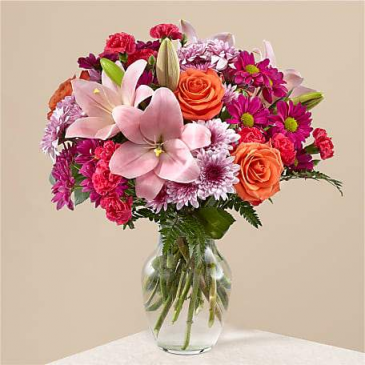The Light of My Life Bouquet Vased Arrangement