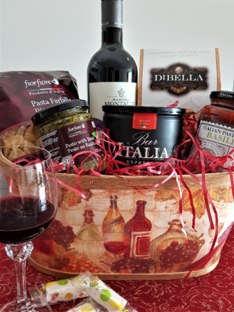 THE SICILIAN  A COMPLETE MEAL IN A BASKET