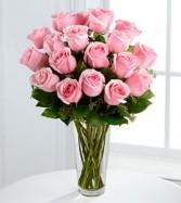 The Long Stem Pink Rose Bouquet EF43
