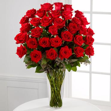 The Long Stem Red Rose Bouquet - 36 Stems ROSES