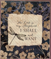 The Lord Is My Shepherd Quilt/Throw
