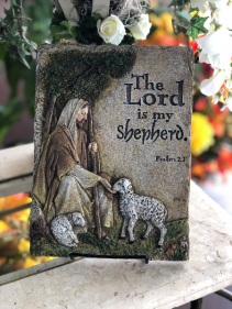 The Lord is my Shepherd Stepping Stone