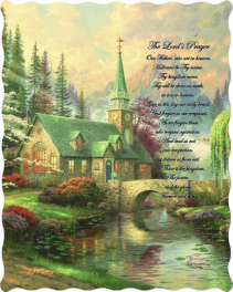 The Lord's Prayer 50 x 60 Quilted Throw